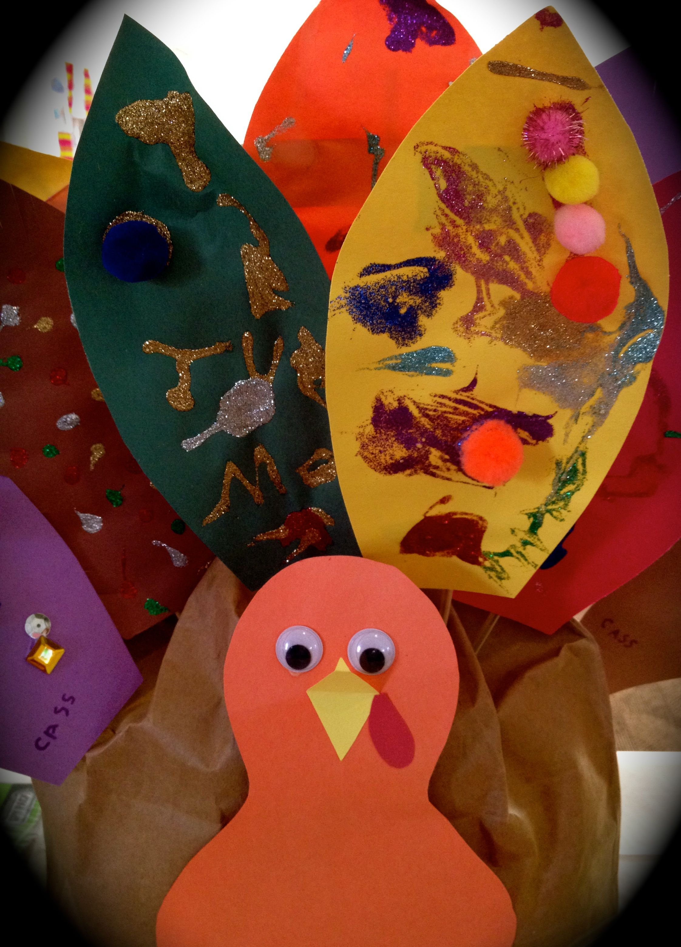 Ideas To Decorate A Paper Turkey Feather For School