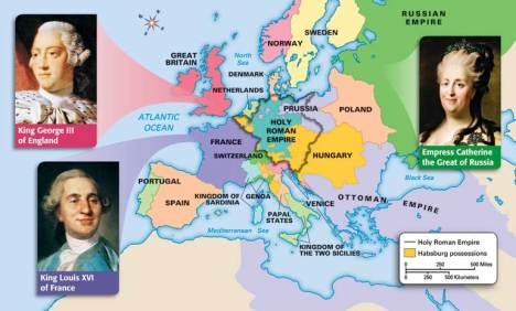 the actions of the absolute monarch catherine the great during the age of enlightenment in europe Catherine ii (l762-1796) of russia catherine ii, a german princess who became empress of russia after disposing of her ineffectual husband was one of the most successful european monarchs she followed peter the great in seeing russia (which had been part of an asian empire for centuries) as european power.