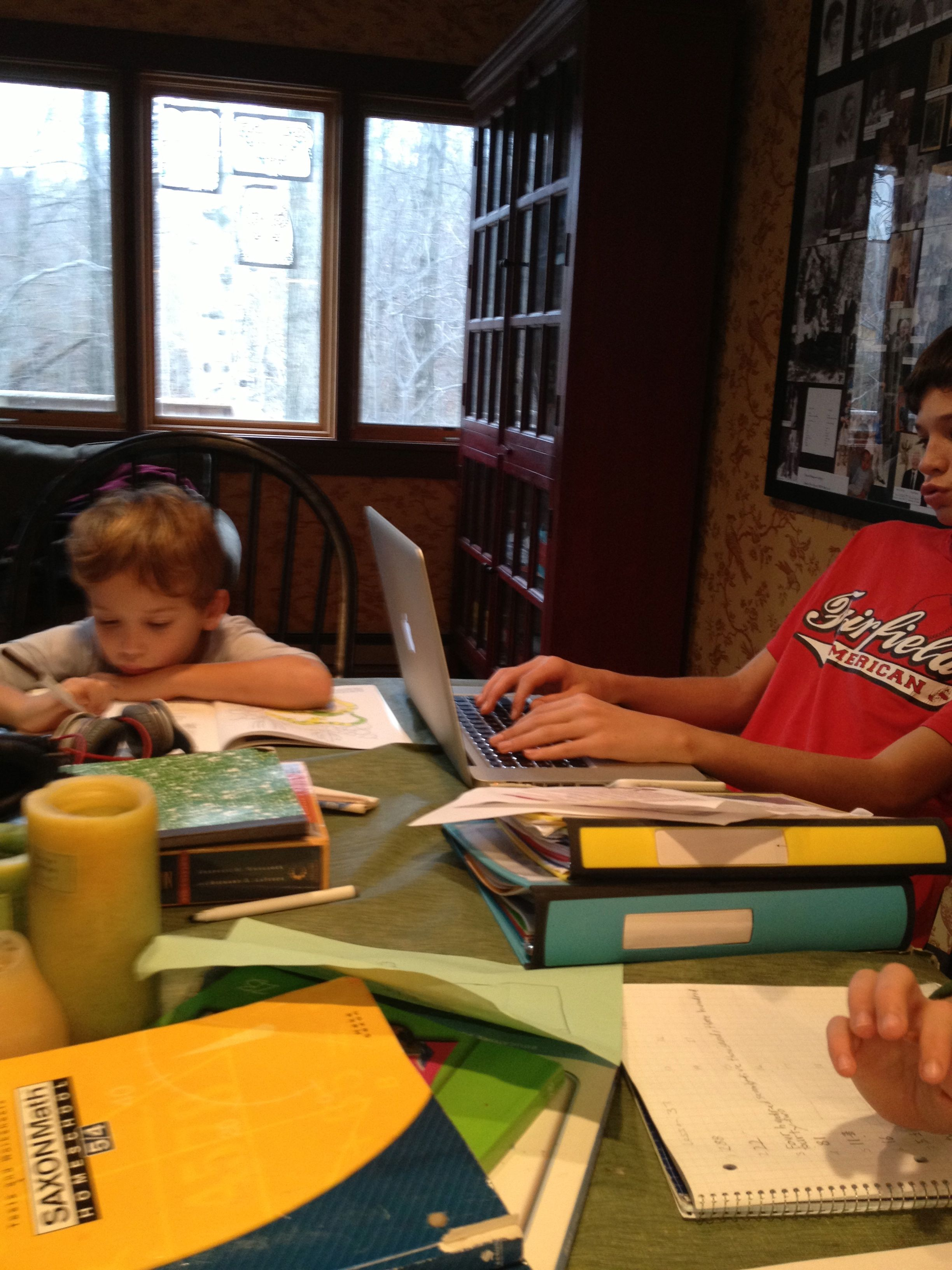 Homeschooling While Traveling