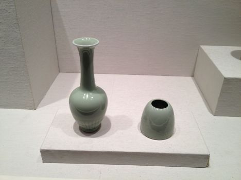 Celadon pottery at the MET