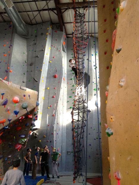 A climbing