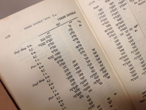 Porter Hebrew