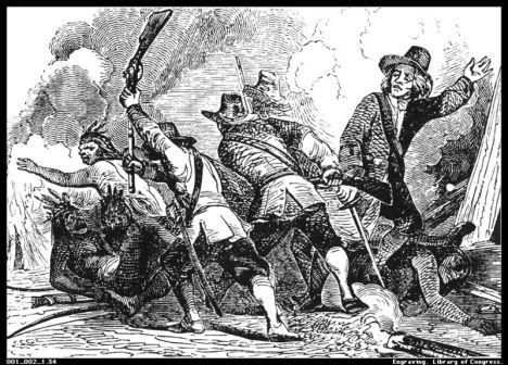 FDR Pequot war